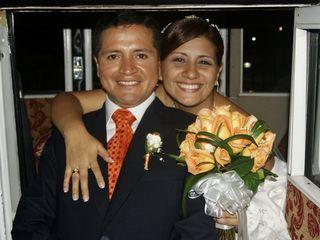 El matrimonio de Melissa y Aldo