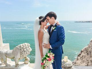 El matrimonio de Lorena y Christoph