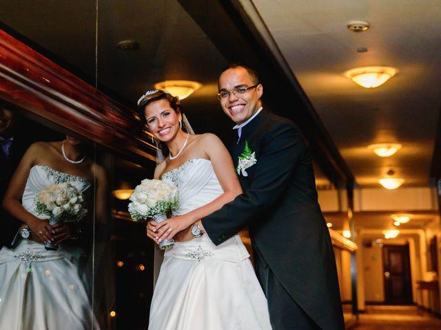 El matrimonio de Ana Karina y Juan