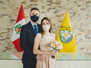 El matrimonio de Paloma y Burkhard