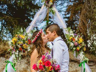 El matrimonio de Erick y Eliana
