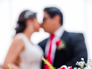 El matrimonio de Patricia y Daniel 1