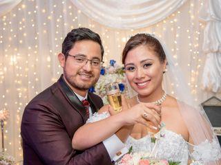 El matrimonio de Tania y José