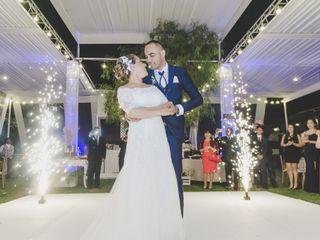 El matrimonio de Romina y Miguel