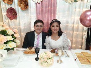 El matrimonio de Fiorella y Gilbert
