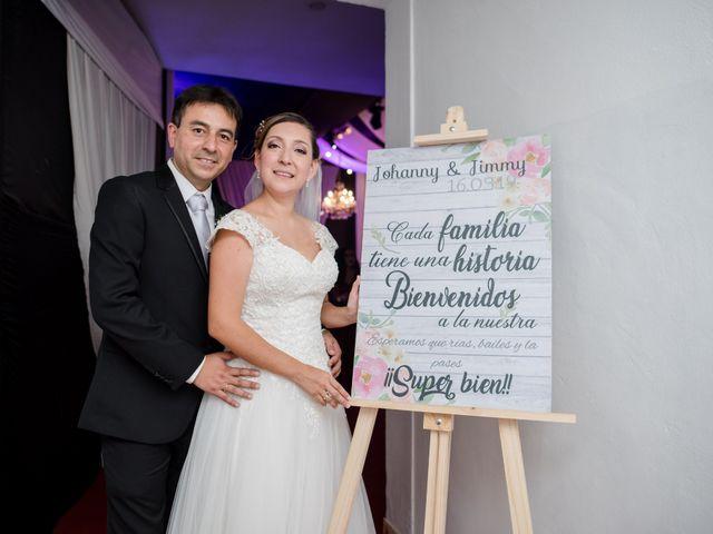El matrimonio de Johanny y Jimmi