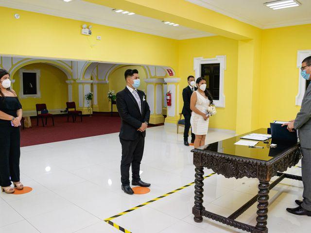El matrimonio de Danitza y Erick en San Martín de Porres, Lima 2