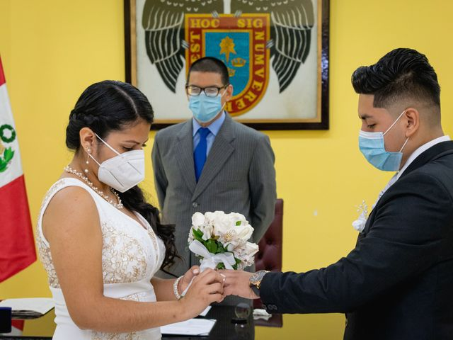 El matrimonio de Danitza y Erick en San Martín de Porres, Lima 7