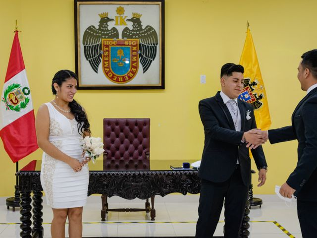El matrimonio de Danitza y Erick en San Martín de Porres, Lima 16