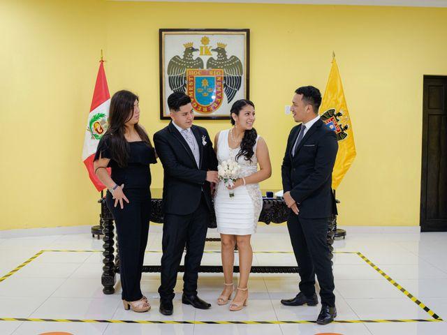 El matrimonio de Danitza y Erick en San Martín de Porres, Lima 18