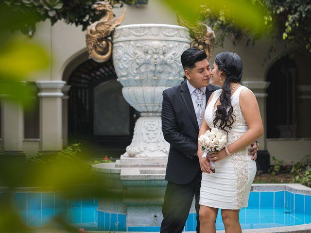 El matrimonio de Erick y Danitza
