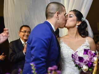 El matrimonio de Piero y Mirtha