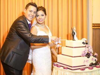 El matrimonio de Fabi y Kike