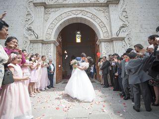 El matrimonio de Diego y Lizbeth
