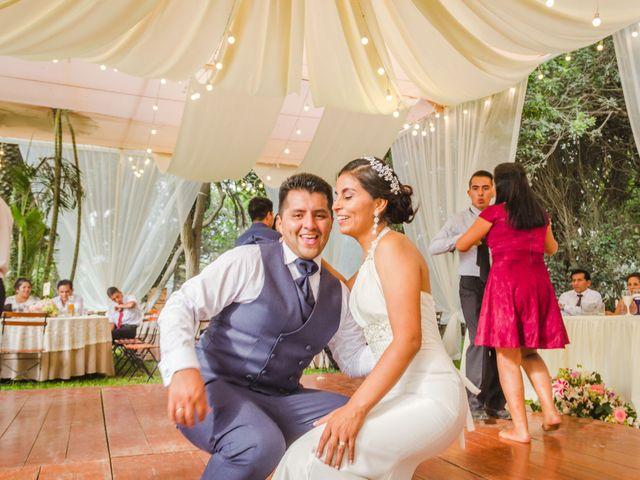El matrimonio de Stephany y Piero