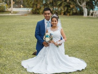 El matrimonio de Rommel y Angella