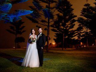 El matrimonio de Alessandra y Carlos
