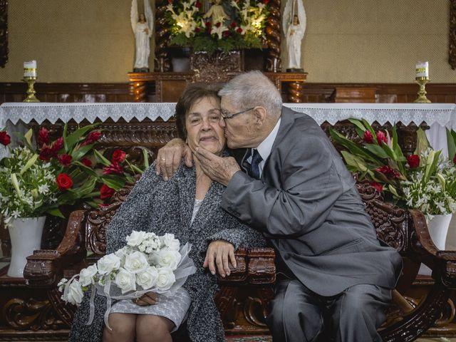 El matrimonio de Hilda y Leo