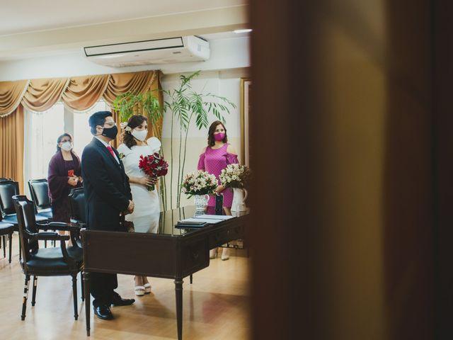 El matrimonio de Álex y Angélica en Santiago de Surco, Lima 16