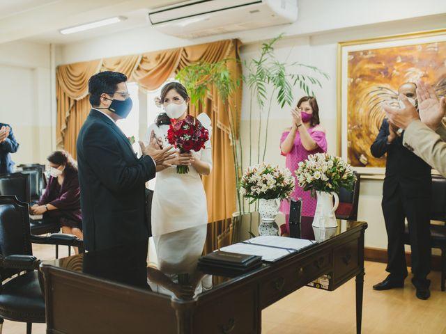 El matrimonio de Álex y Angélica en Santiago de Surco, Lima 18