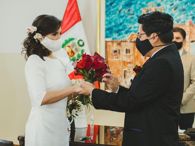 El matrimonio de Álex y Angélica en Santiago de Surco, Lima 20