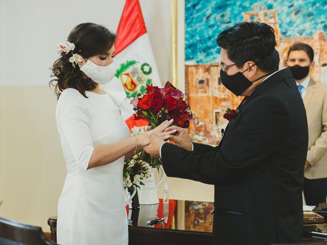El matrimonio de Álex y Angélica en Santiago de Surco, Lima 21