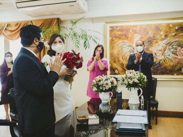El matrimonio de Álex y Angélica en Santiago de Surco, Lima 24