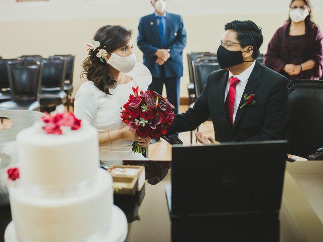 El matrimonio de Álex y Angélica en Santiago de Surco, Lima 26