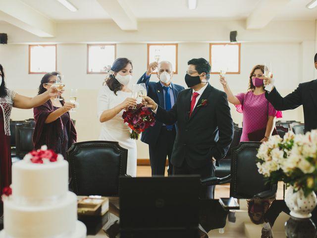 El matrimonio de Álex y Angélica en Santiago de Surco, Lima 30
