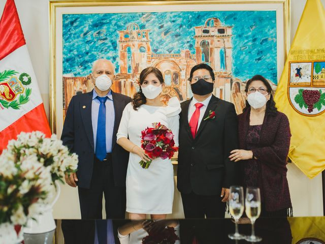 El matrimonio de Álex y Angélica en Santiago de Surco, Lima 34