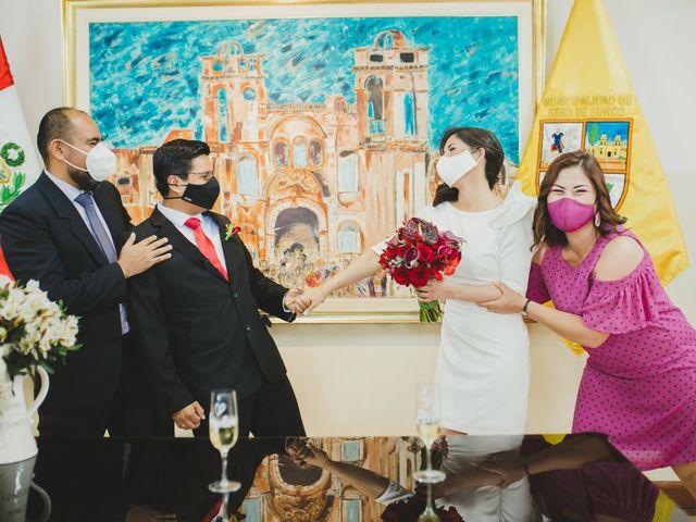 El matrimonio de Álex y Angélica en Santiago de Surco, Lima 38