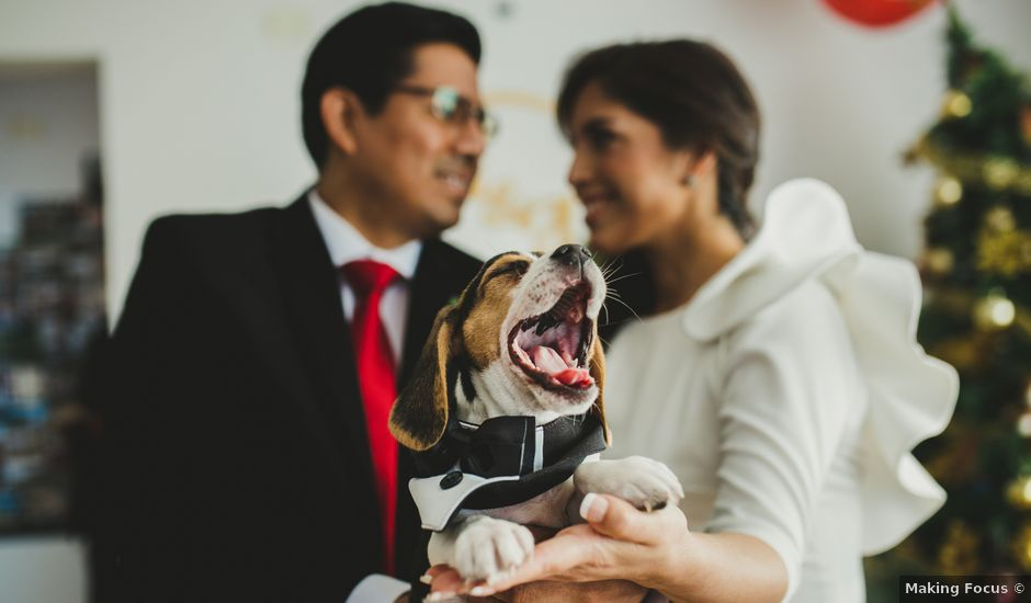El matrimonio de Álex y Angélica en Santiago de Surco, Lima