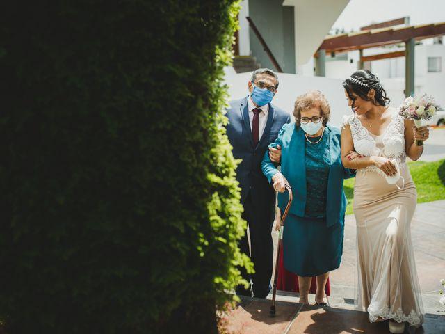 El matrimonio de Reginaldo y Patricia en San Borja, Lima 1