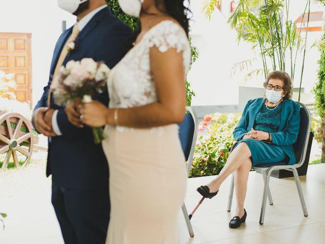 El matrimonio de Reginaldo y Patricia en San Borja, Lima 5
