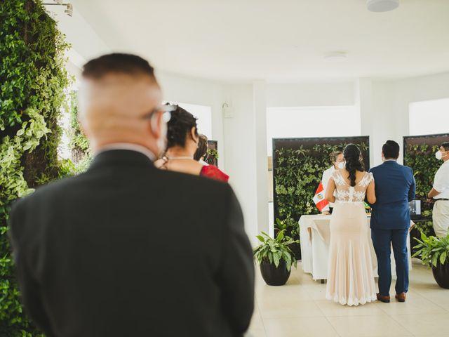 El matrimonio de Reginaldo y Patricia en San Borja, Lima 6