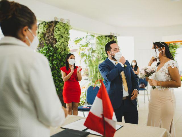 El matrimonio de Reginaldo y Patricia en San Borja, Lima 7