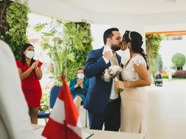 El matrimonio de Reginaldo y Patricia en San Borja, Lima 8