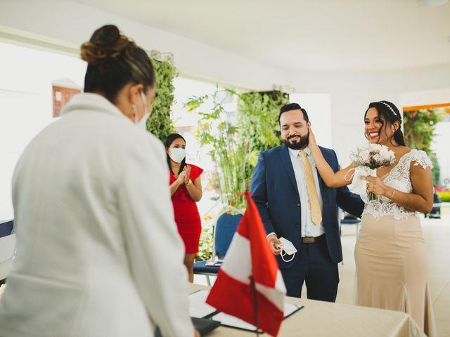El matrimonio de Reginaldo y Patricia en San Borja, Lima 9