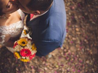 El matrimonio de Leslie y Alejandro