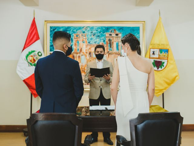 El matrimonio de Juan José y Tiffany en Santiago de Surco, Lima 1