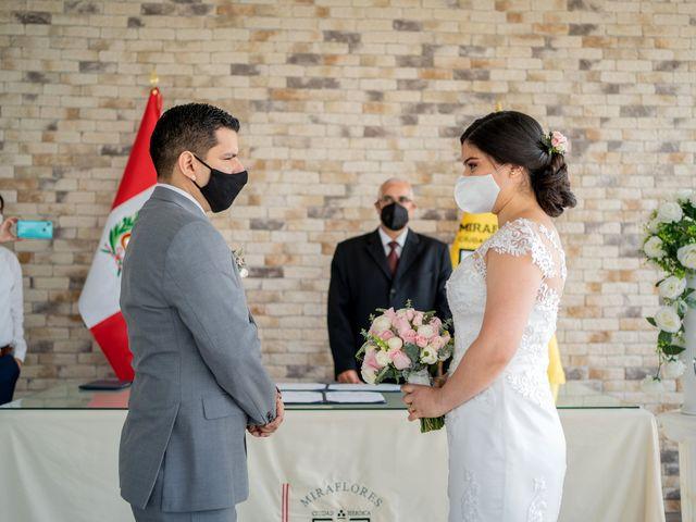 El matrimonio de Richard y Valery en Miraflores, Lima 1