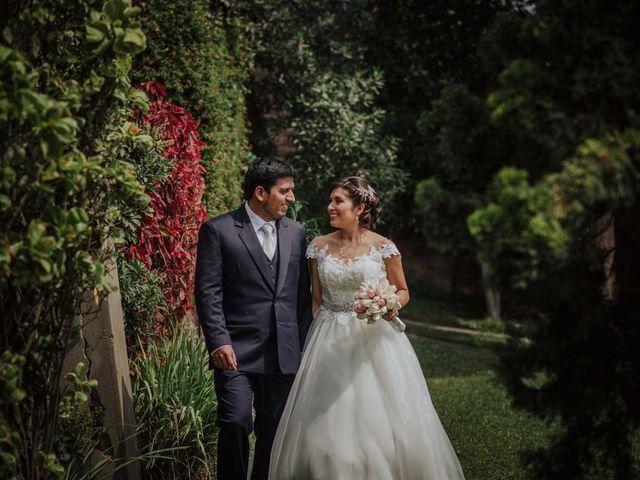 El matrimonio de Mariella y Danny