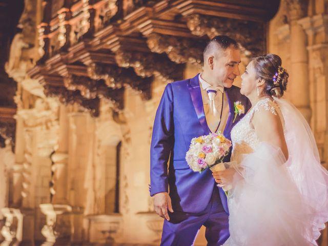 El matrimonio de Angélica y Juan