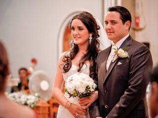 El matrimonio de Karen y Alvaro