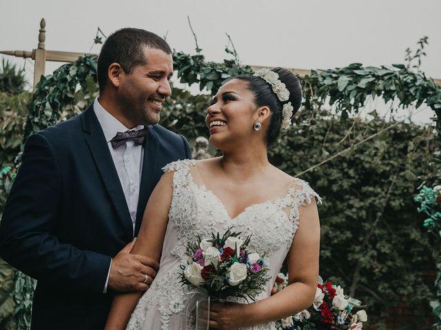El matrimonio de Nicolás y Arely en La Molina, Lima 1