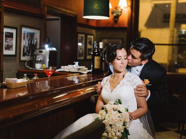 El matrimonio de Kenia y Hector