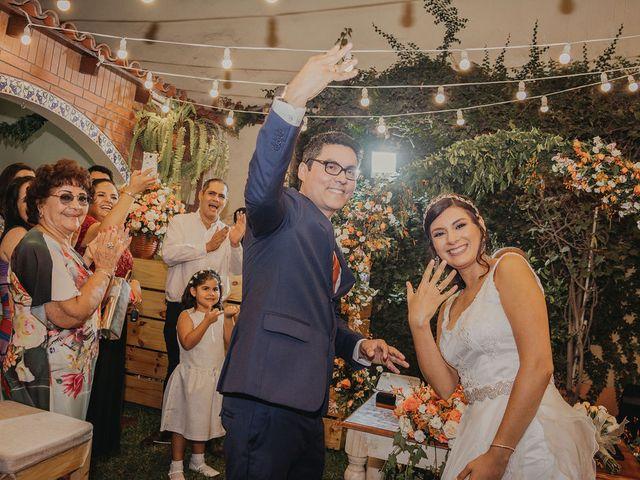 El matrimonio de Kelly y Juan