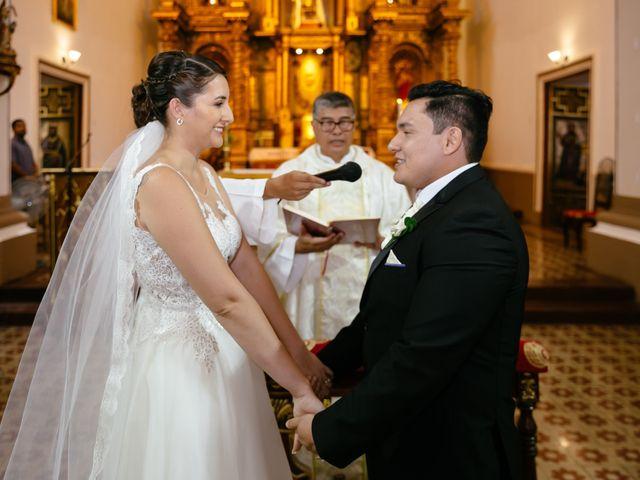El matrimonio de Rayssa y Miguel