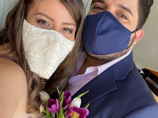 El matrimonio de Márlleny y Martín