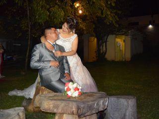 El matrimonio de Junior y Rocío